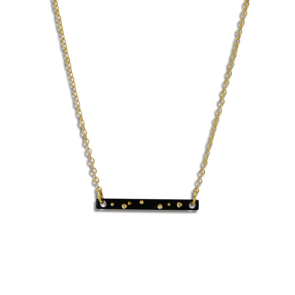 Starry Night Sliver of Sky Necklace