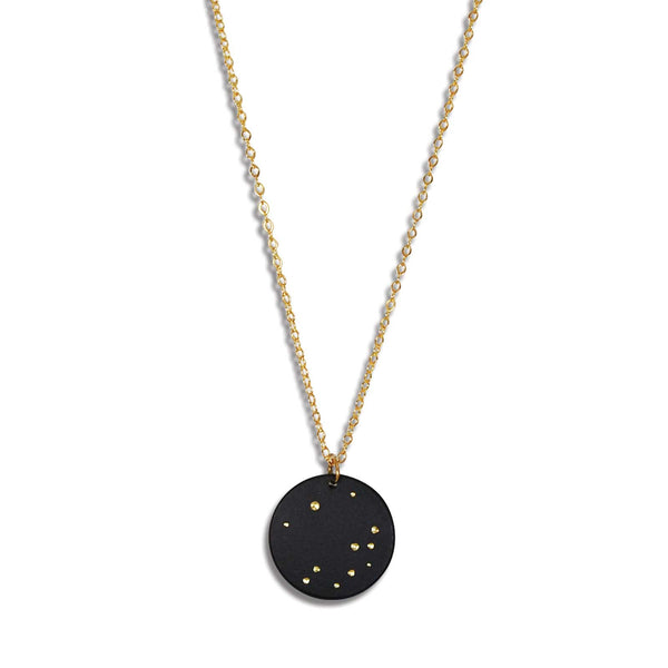 Starry Night Round Sky Necklace