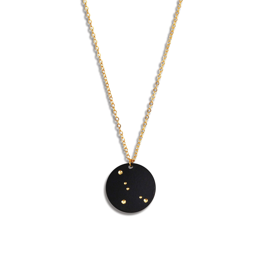 Cancer Zodiac Necklace (June 21-July 22)