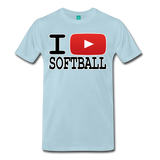 I PLAY SOFTBALL Premium T-Shirt