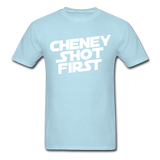 "Sore Thumbs ""Cheney Shot First"" T-Shirt"