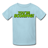 YOU'RE SCORING! / NEVER LISTEN TO ME! Kids' T-Shirt