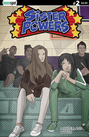 SISTER POWERS #2 Comic Book