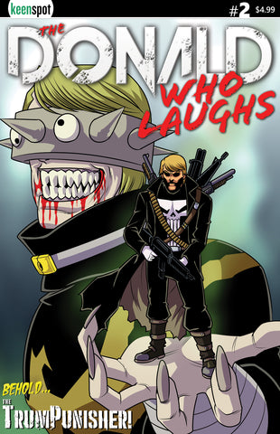 THE DONALD WHO LAUGHS #2 Comic Book