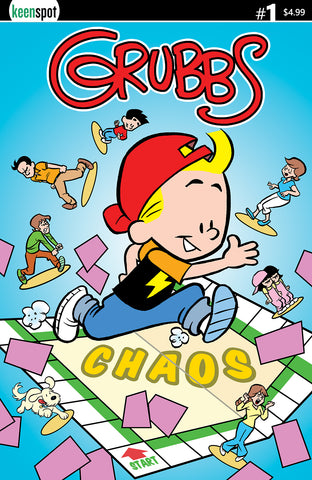 GRUBBS #1 Comic Book