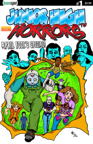 JUNIOR HIGH HORRORS APRIL FOOLS SPECIAL #1 Comic Book