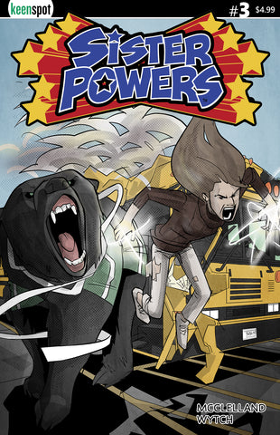 SISTER POWERS #3 Comic Book