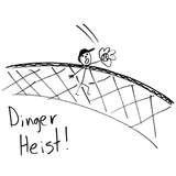 DINGER HEIST! Women's T-Shirt