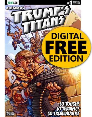 TRUMP'S TITANS #1 Comic Book