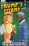 TRUMP'S TITANS VS. THE MANDELA EFFECT #1 Comic Book
