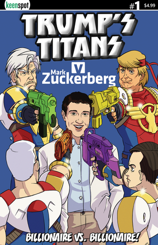 TRUMP'S TITANS VS. MARK ZUCKERBERG #1 Comic Book