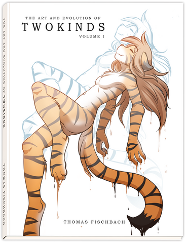 The Art and Evolution of Twokinds Vol. 1 Artbook