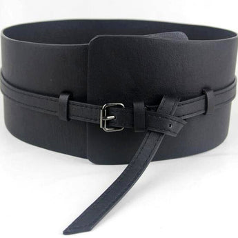 Wide Cummerbund Belt