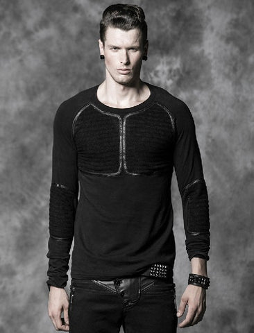 Men's Street Punk Long-sleeved top