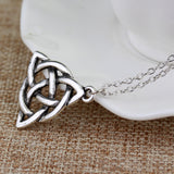 Classic PunkTrinity Knot Necklace