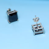 Glam Punk Black Crystal Men's/Women's Earrings