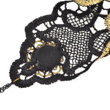Steampunk Gold Lace Glove