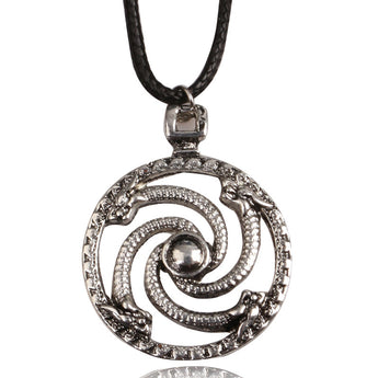 Viking Serpentine Talisman Amulet Necklace