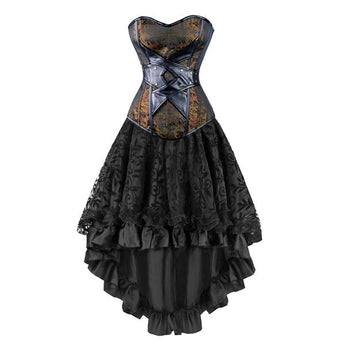 Vintage Steampunk Corsets Dress