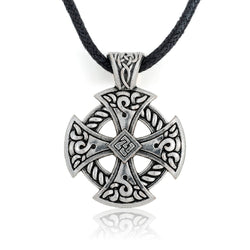Viking Shield Pendant Necklace