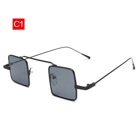 Cool minimalistic street punk sunglasses