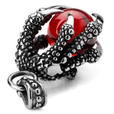 Fierce Red Dragon Claw Pendant.