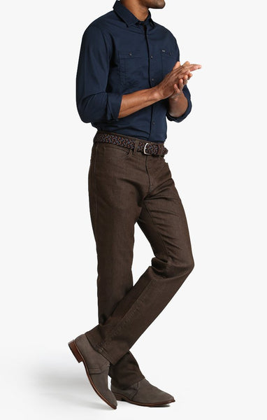 34 Heritage Charisma Fit Brown Comfort Jeans - Rainwater's Men's Clothing and Tuxedo Rental