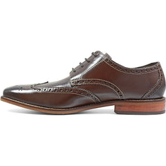 Florsheim Castellano Wingtip Oxford in Brown - Rainwater's Men's Clothing and Tuxedo Rental