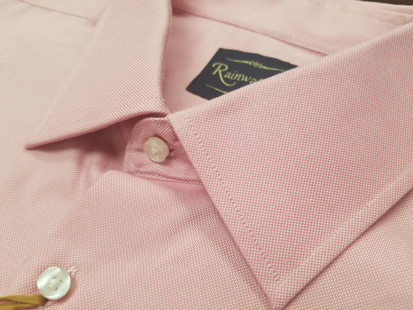 Rainwater's 100% Cotton Pink Royal Oxford Dress Shirt - Rainwater's Men's Clothing and Tuxedo Rental