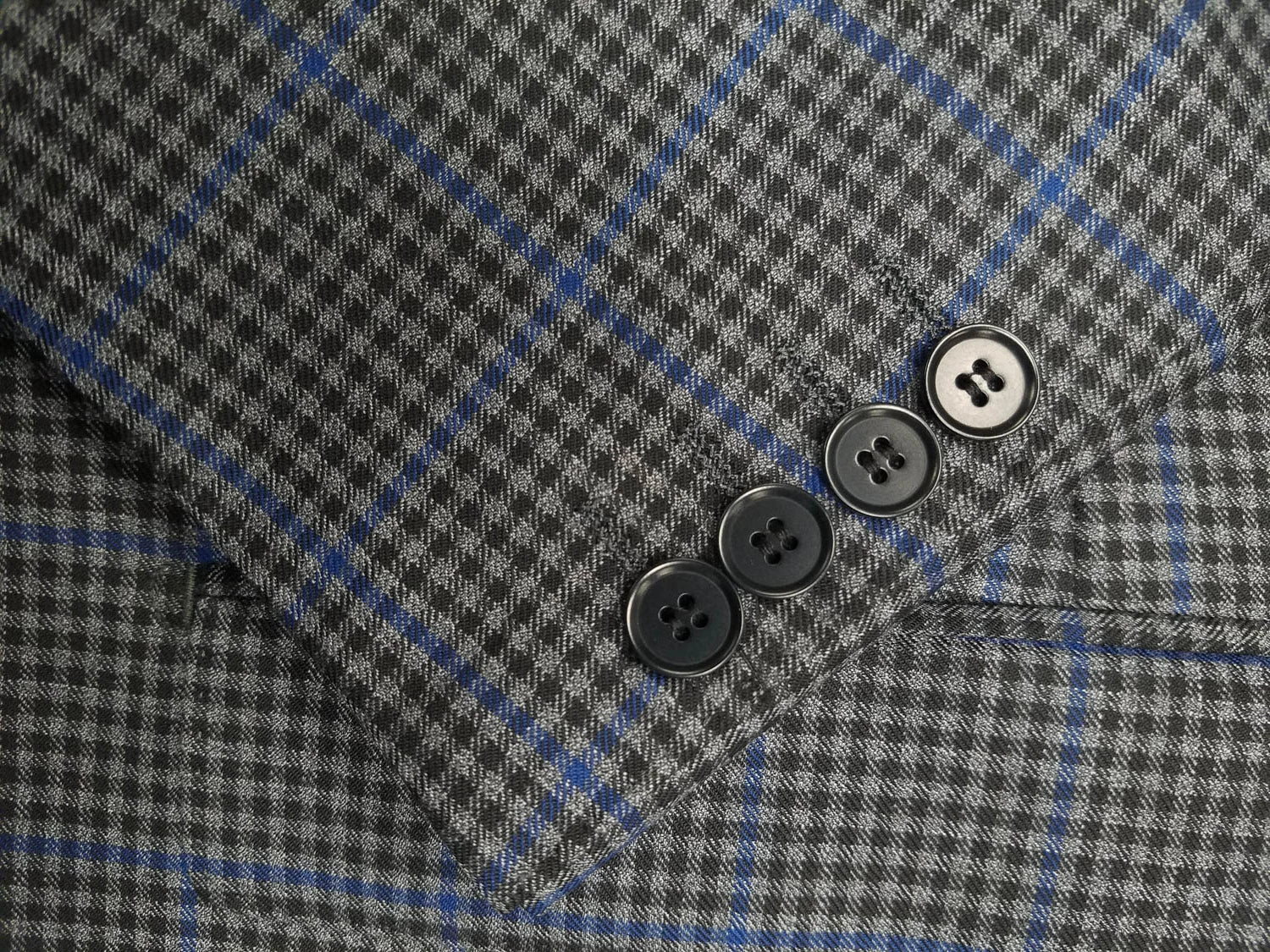 Rainwater's Luxury Collection Grey Check Super 150's Wool Sport Coat - Rainwater's Men's Clothing and Tuxedo Rental