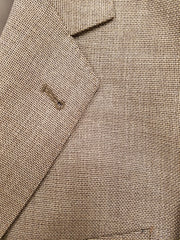 Mocha Color Sport Coat 100% Wool Fabric by Drago of Italy - Rainwater's
