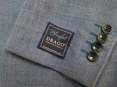 Light Blue Sport Coat 100% Wool Fabric By Drago of Italy - Rainwater's Men's Clothing and Tuxedo Rental