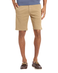 34 Heritage Nevada Khaki Soft Touch Cotton Tencel Shorts - Rainwater's Men's Clothing and Tuxedo Rental