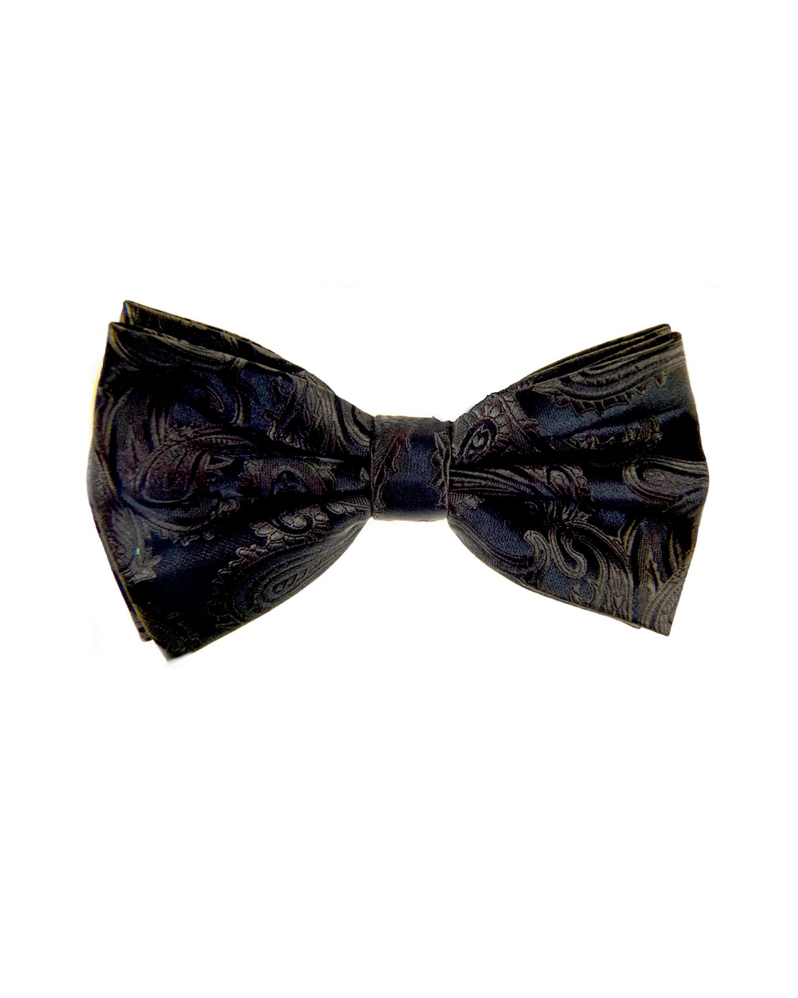Bow Tie In Paisley Pattern Brown - Rainwater's