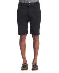 34 Heritage Black Nevada Cotton Tencel Shorts - Rainwater's Men's Clothing and Tuxedo Rental