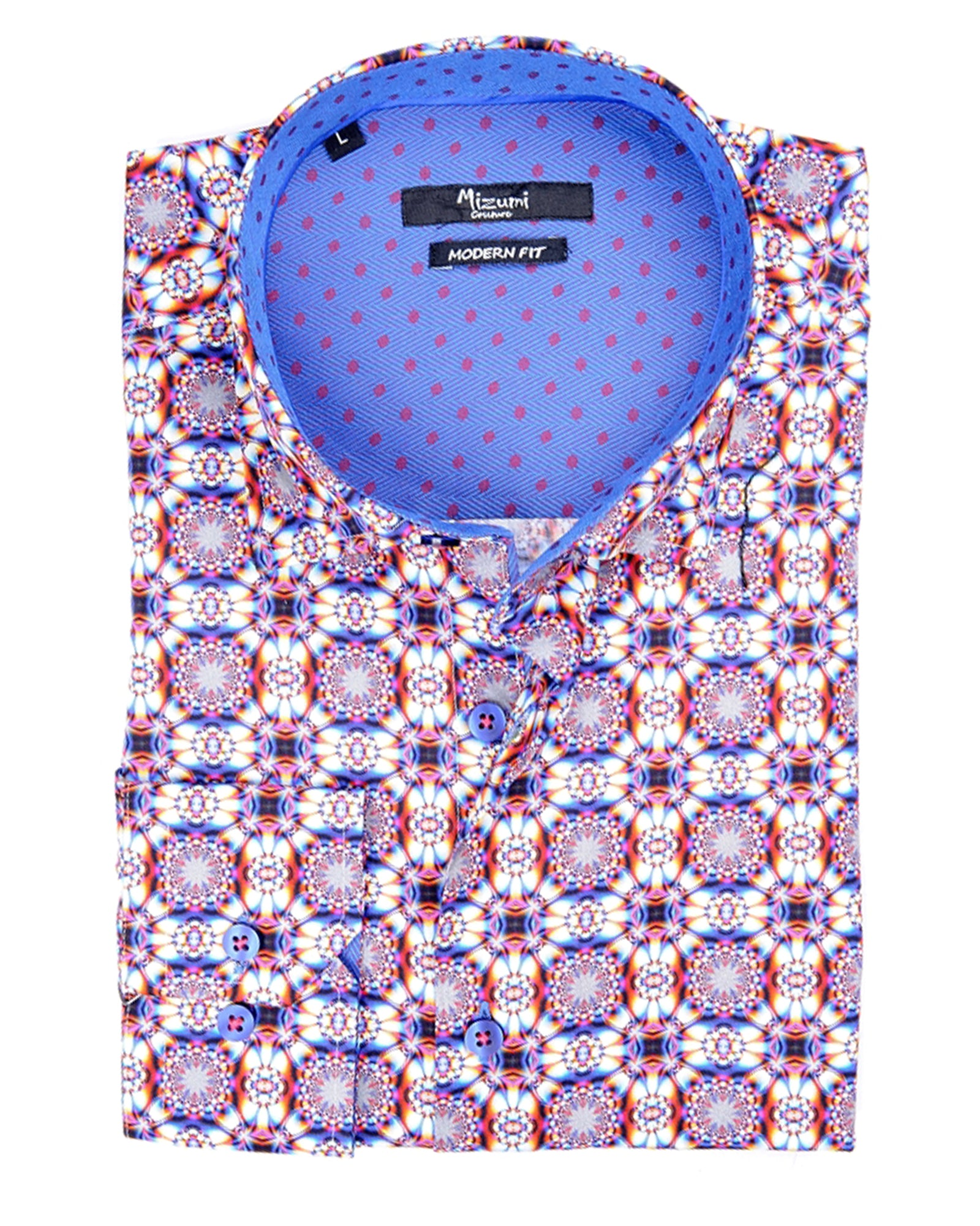 Psychedelic Trip Sport Shirt - Rainwater's Men's Clothing and Tuxedo Rental