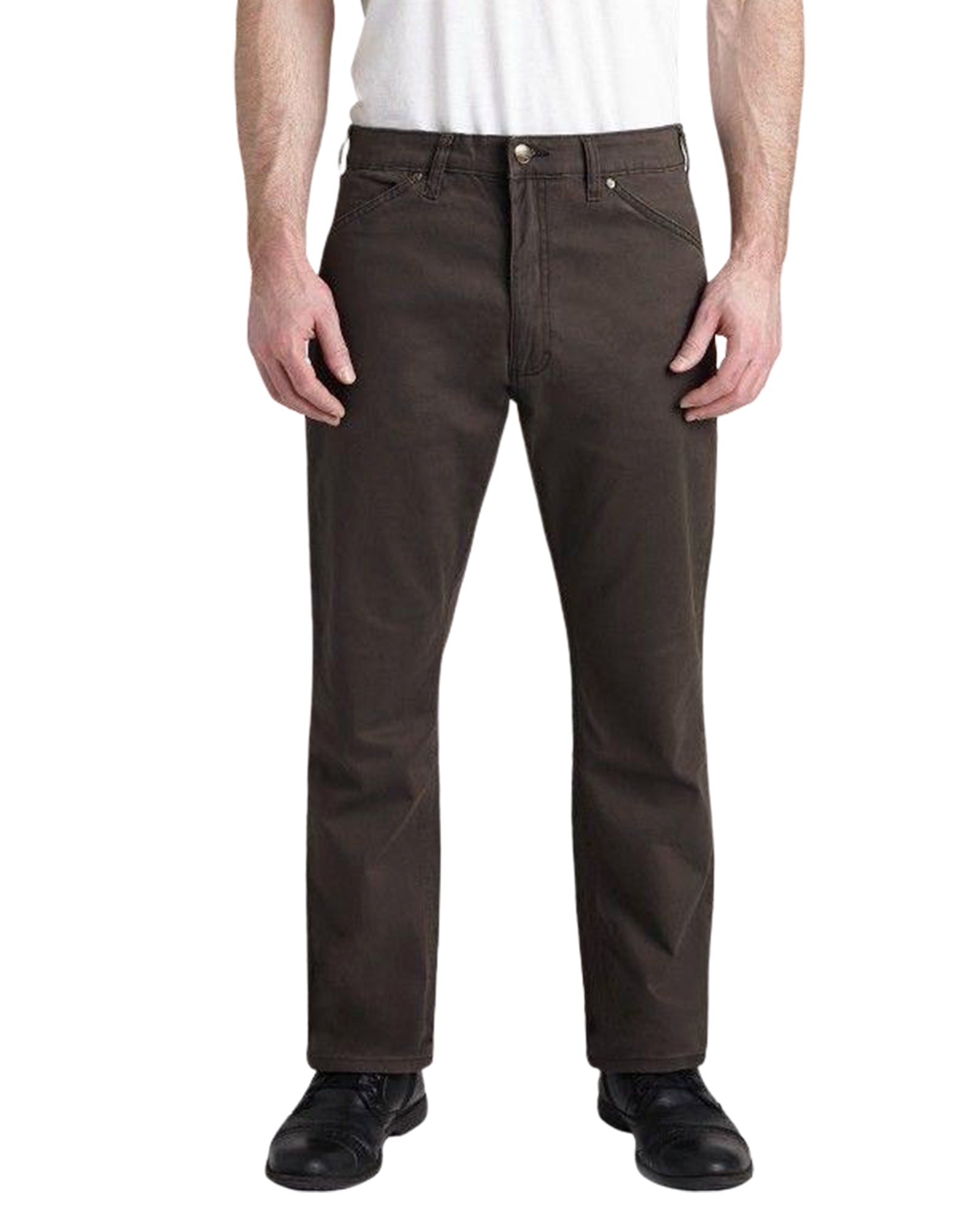 Grand River Brown Twill Stretch Jean - Rainwater's