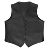 Black Satin Vest Rental - Rainwater's Men's Clothing and Tuxedo Rental