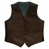 Chocolate Satin Vest - Rainwater's Men's Clothing and Tuxedo Rental