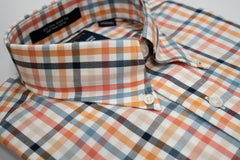 Rainwater's Apricot Multi Check - Rainwater's Men's Clothing and Tuxedo Rental