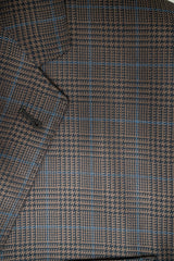 Tessilstrona Brown Plaid Silk & Wool Sport Coat - Rainwater's Men's Clothing and Tuxedo Rental