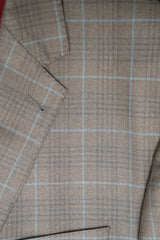 Rainwater's Tobacco Plaid Silk & Wool Sport Coat - Rainwater's Men's Clothing and Tuxedo Rental