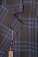 Dean Rainwater Navy & Blue Plaid Super 140's Wool Sport Coat - Rainwater's Men's Clothing and Tuxedo Rental