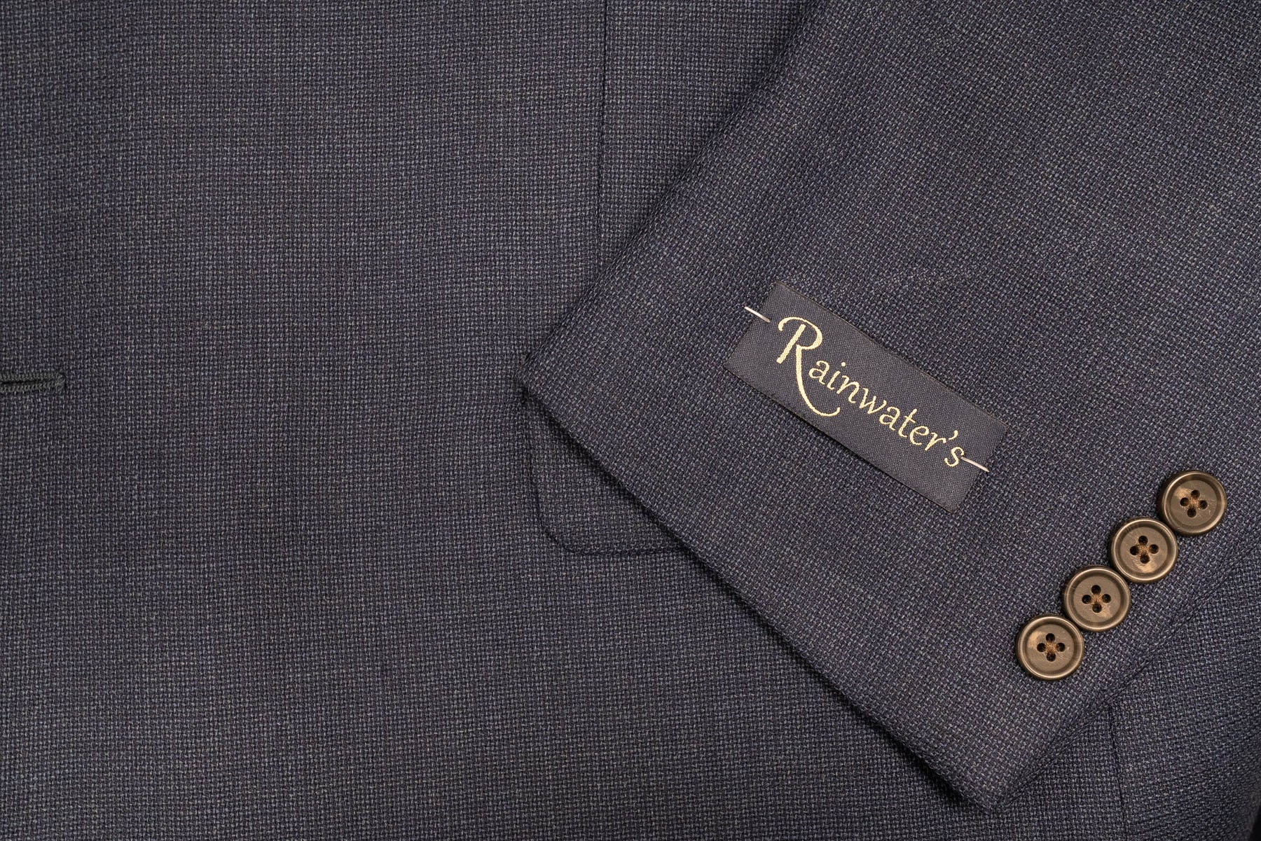 Rainwater's Indigo Blue Hopsack Sport Coat - Rainwater's Men's Clothing and Tuxedo Rental