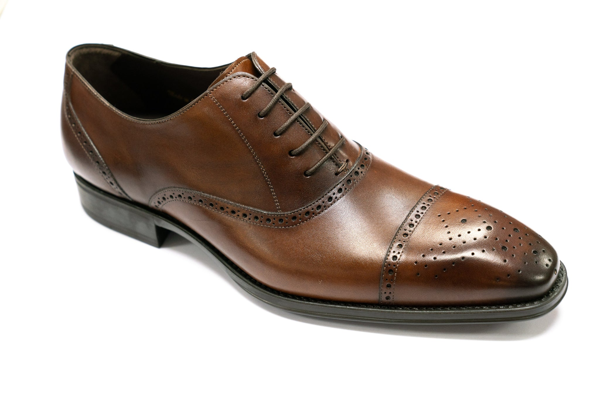 Mezlan Buckland Oxford in Cognac - Rainwater's
