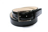 Trafalgar Black Leather Belt Single Keeper