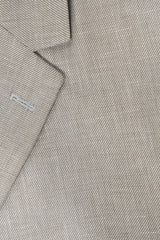 Basketweave Slim Fit Blazer in Sand Linen - Rainwater's Men's Clothing and Tuxedo Rental