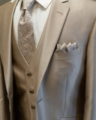Luster Champagne Suit Rental - Rainwater's Men's Clothing and Tuxedo Rental