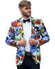 Hendrix Abstract Dinner Jacket Tuxedo Rental - Rainwater's Men's Clothing and Tuxedo Rental