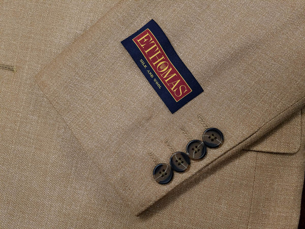 E. Thomas Wool & Silk Camel Sport Coat - Rainwater's Men's Clothing and Tuxedo Rental